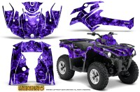 Can-Am-Outlander-L-2014-2016-CreatorX-Graphics-Kit-Inferno-Purple