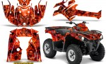 Can Am Outlander L 2014 2016 CreatorX Graphics Kit Inferno Red 150x90 - Can-Am Outlander 2014-2019 450 570 L Max-L DPS Graphics