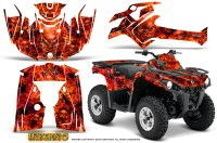 Can-Am-Outlander-L-2014-2016-CreatorX-Graphics-Kit-Inferno-Red