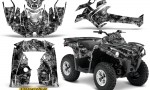 Can Am Outlander L 2014 2016 CreatorX Graphics Kit Inferno Silver 150x90 - Can-Am Outlander 2014-2019 450 570 L Max-L DPS Graphics