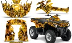 Can Am Outlander L 2014 2016 CreatorX Graphics Kit Inferno Yellow 150x90 - Can-Am Outlander 2014-2019 450 570 L Max-L DPS Graphics