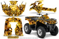 Can-Am-Outlander-L-2014-2016-CreatorX-Graphics-Kit-Inferno-Yellow