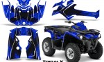 Can Am Outlander L 2014 2016 CreatorX Graphics Kit TribalX Black Blue 150x90 - Can-Am Outlander 2014-2019 450 570 L Max-L DPS Graphics