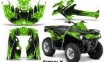 Can Am Outlander L 2014 2016 CreatorX Graphics Kit TribalX Black Green 150x90 - Can-Am Outlander 2014-2019 450 570 L Max-L DPS Graphics