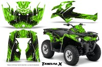 Can-Am-Outlander-L-2014-2016-CreatorX-Graphics-Kit-TribalX-Black_Green