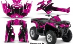 Can Am Outlander L 2014 2016 CreatorX Graphics Kit TribalX Black Pink 150x90 - Can-Am Outlander 2014-2019 450 570 L Max-L DPS Graphics