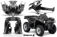 Can-Am-Outlander-L-2014-2016-CreatorX-Graphics-Kit-TribalX-Black_Silver