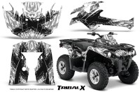 Can-Am-Outlander-L-2014-2016-CreatorX-Graphics-Kit-TribalX-Black_White