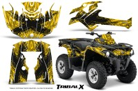 Can-Am-Outlander-L-2014-2016-CreatorX-Graphics-Kit-TribalX-Black_Yellow