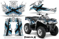 Can-Am-Outlander-L-2014-2016-CreatorX-Graphics-Kit-TribalX-BlueIce_White