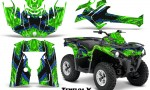 Can Am Outlander L 2014 2016 CreatorX Graphics Kit TribalX Blue Green 150x90 - Can-Am Outlander 2014-2019 450 570 L Max-L DPS Graphics