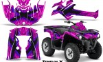 Can Am Outlander L 2014 2016 CreatorX Graphics Kit TribalX Blue Pink 150x90 - Can-Am Outlander 2014-2019 450 570 L Max-L DPS Graphics