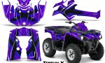 Can Am Outlander L 2014 2016 CreatorX Graphics Kit TribalX Blue Purple 150x90 - Can-Am Outlander 2014-2019 450 570 L Max-L DPS Graphics
