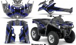 Can Am Outlander L 2014 2016 CreatorX Graphics Kit TribalX Blue Silver 150x90 - Can-Am Outlander 2014-2019 450 570 L Max-L DPS Graphics