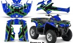 Can Am Outlander L 2014 2016 CreatorX Graphics Kit TribalX Green Blue 150x90 - Can-Am Outlander 2014-2019 450 570 L Max-L DPS Graphics