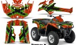 Can Am Outlander L 2014 2016 CreatorX Graphics Kit TribalX Green Red 150x90 - Can-Am Outlander 2014-2019 450 570 L Max-L DPS Graphics