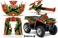 Can-Am-Outlander-L-2014-2016-CreatorX-Graphics-Kit-TribalX-Green_Red