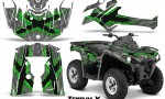 Can Am Outlander L 2014 2016 CreatorX Graphics Kit TribalX Green Silver 150x90 - Can-Am Outlander 2014-2019 450 570 L Max-L DPS Graphics