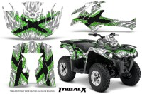 Can-Am-Outlander-L-2014-2016-CreatorX-Graphics-Kit-TribalX-Green_White