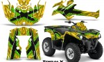 Can Am Outlander L 2014 2016 CreatorX Graphics Kit TribalX Green Yellow 150x90 - Can-Am Outlander 2014-2019 450 570 L Max-L DPS Graphics