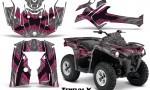 Can Am Outlander L 2014 2016 CreatorX Graphics Kit TribalX Pink Silver 150x90 - Can-Am Outlander 2014-2019 450 570 L Max-L DPS Graphics