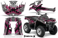 Can-Am-Outlander-L-2014-2016-CreatorX-Graphics-Kit-TribalX-Pink_Silver