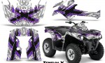 Can Am Outlander L 2014 2016 CreatorX Graphics Kit TribalX Purple White 150x90 - Can-Am Outlander 2014-2019 450 570 L Max-L DPS Graphics