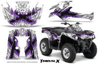 Can-Am-Outlander-L-2014-2016-CreatorX-Graphics-Kit-TribalX-Purple_White