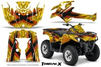 Can-Am-Outlander-L-2014-2016-CreatorX-Graphics-Kit-TribalX-Red-Yellow