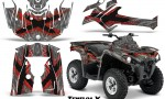 Can Am Outlander L 2014 2016 CreatorX Graphics Kit TribalX Red Silver 150x90 - Can-Am Outlander 2014-2019 450 570 L Max-L DPS Graphics