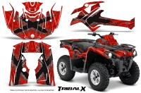 Can-Am-Outlander-L-2014-2016-CreatorX-Graphics-Kit-TribalX-Silver_Red