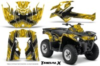Can-Am-Outlander-L-2014-2016-CreatorX-Graphics-Kit-TribalX-Silver_Yellow