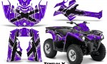Can Am Outlander L 2014 2016 CreatorX Graphics Kit TribalX White Purple 150x90 - Can-Am Outlander 2014-2019 450 570 L Max-L DPS Graphics