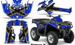 Can Am Outlander L 2014 2016 CreatorX Graphics Kit TribalX Yellow Blue 150x90 - Can-Am Outlander 2014-2019 450 570 L Max-L DPS Graphics