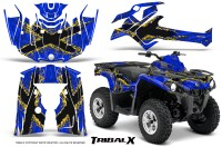 Can-Am-Outlander-L-2014-2016-CreatorX-Graphics-Kit-TribalX-Yellow_Blue