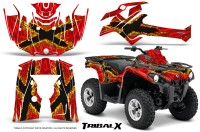Can-Am-Outlander-L-2014-2016-CreatorX-Graphics-Kit-TribalX-Yellow_Red