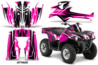 Canam-Outlander-L-2014-2015-Graphic-Kit-Wrap-Attack-Pink