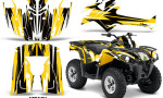 Canam Outlander L 2014 2015 Graphic Kit Wrap Attack Yellow 150x90 - Can-Am Outlander 2014-2019 450 570 L Max-L DPS Graphics