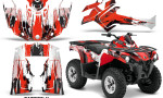 Canam Outlander L 2014 2015 Graphic Kit Wrap Carbon X Red 150x90 - Can-Am Outlander 2014-2019 450 570 L Max-L DPS Graphics