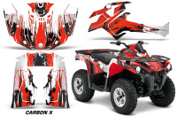 Canam-Outlander-L-2014-2015-Graphic-Kit-Wrap-Carbon-X-Red