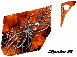 Can Am Maverick Pro Armor Graphics SpiderX Orange th 320x238 - Can-Am Maverick CreatorX 2 Door Graphics