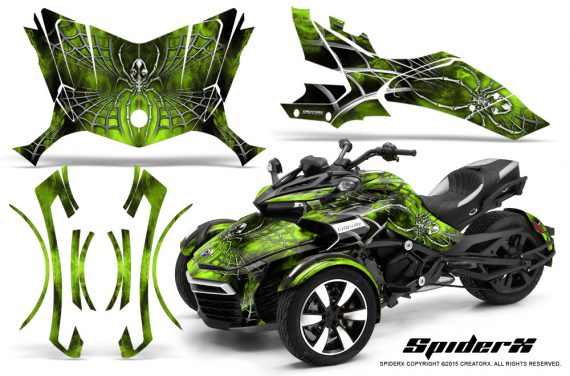Can-Am-Spyder-F3-CreatorX-Graphics-Kit-SpiderX-GreenLime