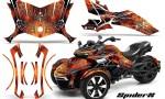 Can Am Spyder F3 CreatorX Graphics Kit SpiderX Orange 150x90 - Can-Am Spyder F3 Graphics
