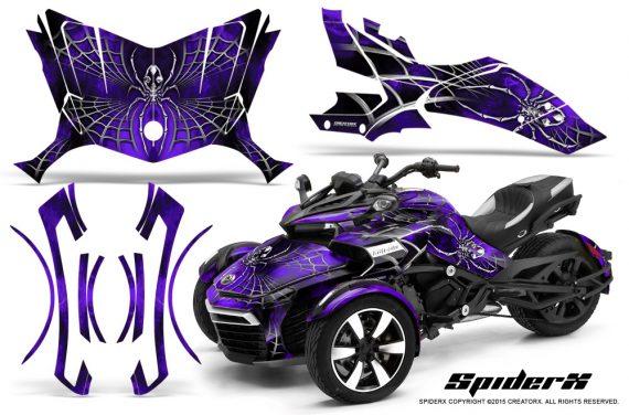 Can-Am-Spyder-F3-CreatorX-Graphics-Kit-SpiderX-Purple
