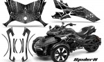 Can Am Spyder F3 CreatorX Graphics Kit SpiderX Silver 150x90 - Can-Am Spyder F3 Graphics