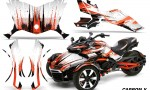 Can Am Spyder F3 Wrap Graphic Kit Carbon X O 150x90 - Can-Am Spyder F3 Graphics