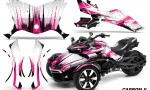 Can Am Spyder F3 Wrap Graphic Kit Carbon X P 150x90 - Can-Am Spyder F3 Graphics