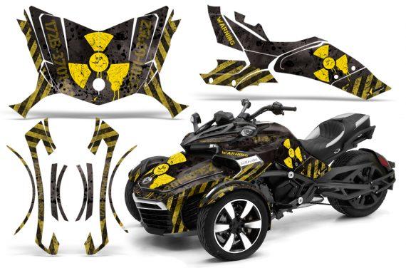 Can-Am-Spyder-F3-Wrap-Graphic-Kit-Meltdown-YB