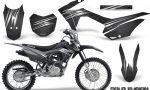 Honda CRF 125F CreatorX Graphic Kit Cold Fusion Black 150x90 - Honda CRF125F 2014-2018 Graphics