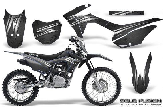 Honda CRF 125F CreatorX Graphic Kit Cold Fusion Black 570x376 - Honda CRF125F 2014-2018 Graphics